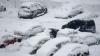 Снегопад в Москве: автомобилисты в панике, пешеходы в восторге