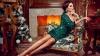 Яркий наряд и смелый макияж - так должны выглядеть дамы в новогоднюю ночь
