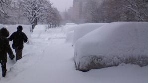 В Румынии и на Украине снегопад создал множество проблем