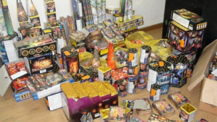 Контрабанда на злобу дня: незаконная пиротехника была обнаружена на улицах Кишинева (ВИДЕО)
