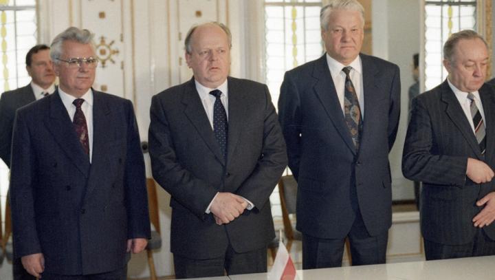 23 года назад Россия, Украина и Белоруссия подписали Соглашение о создании СНГ
