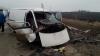 Серьезная авария на трассе Кишинев-Бельцы: два автомобиля столкнулись лоб в лоб (ФОТО)
