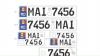 Registru вводит в обращение новые автомобильные номерные знаки