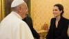 Анджелина Джоли побывала в Ватикане, представив свой новый фильм
