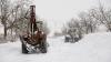 Два села на юге страны остаются заблокированными из-за снегопада