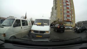 Санкционирован водитель маршрутки, выехавший на встречную полосу