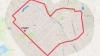Столичные спортсмены устроили забег по маршруту в форме сердца