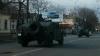 По улицам Кишинева проехала военная техника (ВИДЕО)