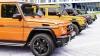 Mercedes-Benz предлагает внедорожники желтого, оранжевого и зеленого цветов