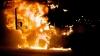 Пожар в центре столицы: на улице Александри загорелся грузовик (ВИДЕО)