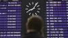 В аэропортах Москвы из-за снегопада задержали более 75 рейсов