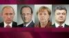 Порошенко, Путин, Олланд и Меркель договорились о встрече в Минске в нормандском формате
