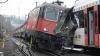 Два поезда столкнулись в Швейцарии: десятки пострадавших