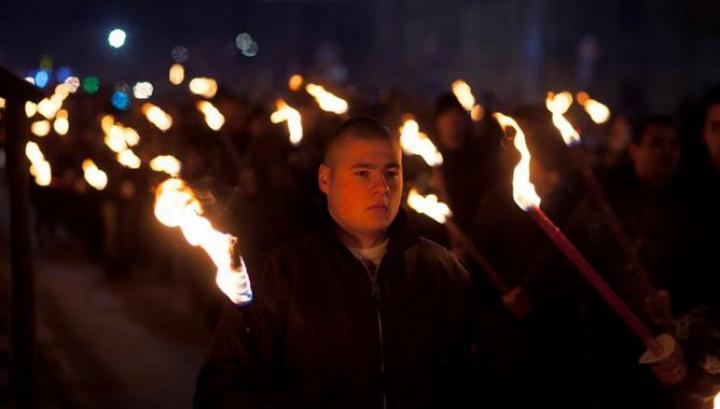 В столице Болгарии прошло факельное шествие неонацистов