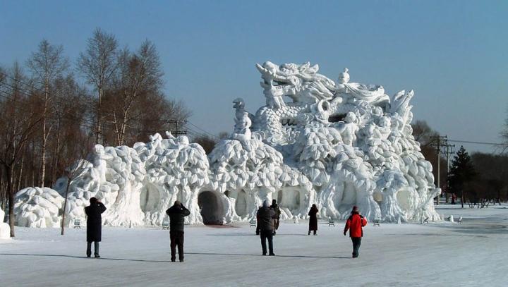 В японском городе Саппоро открылся 66 фестиваль ледяных скульптур