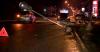 ДТП в столице: одна из машин, врезавшись в другую, отлетела в столб