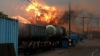 В Канаде состав, перевозивший нефть, сошёл с рельсов и загорелся