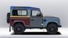 Модный дизайнер разукрасил Land Rover Defender в 27 цветов