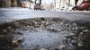 В столице на улице Бэнулеску Бодони из-за дождей образовалась яма