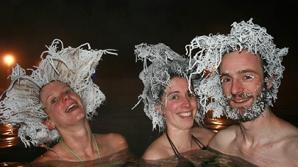 В Канаде прошел конкурс по замораживанию волос