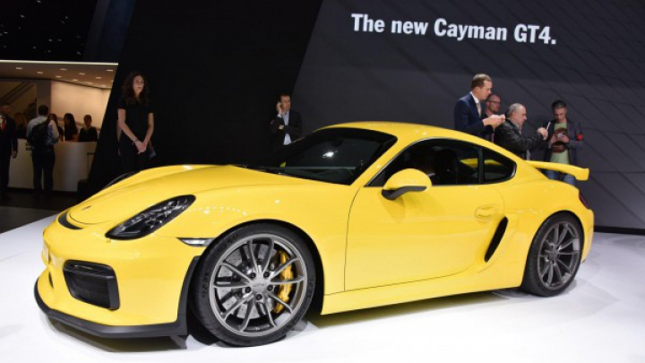 Женева 2015: Porsche Cayman GT4 (ФОТО)