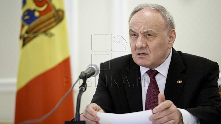 Тимофти подписал указ об отстранении от должности четырех судей