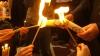 Благодатный огонь  раздадут священникам и верующим в сквере Кафедрального собора