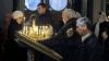 Пасхальное богослужение в Кафедральном соборе: взрослые и дети пришли освятить куличи и яйца
