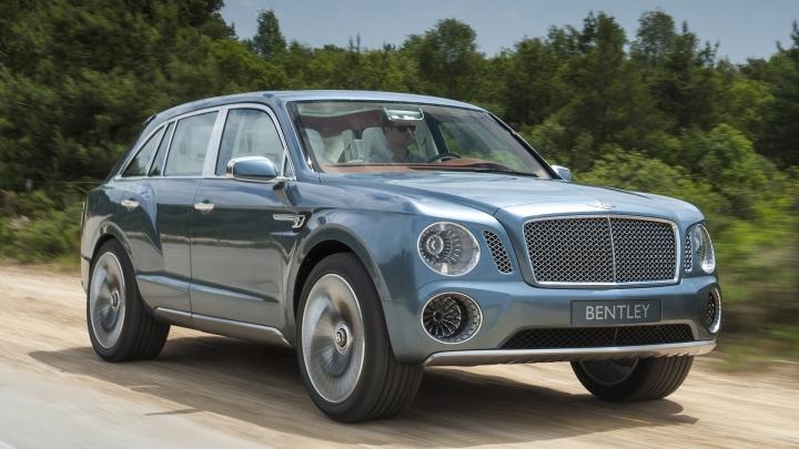 Bentley выпустит новый компактный кроссовер