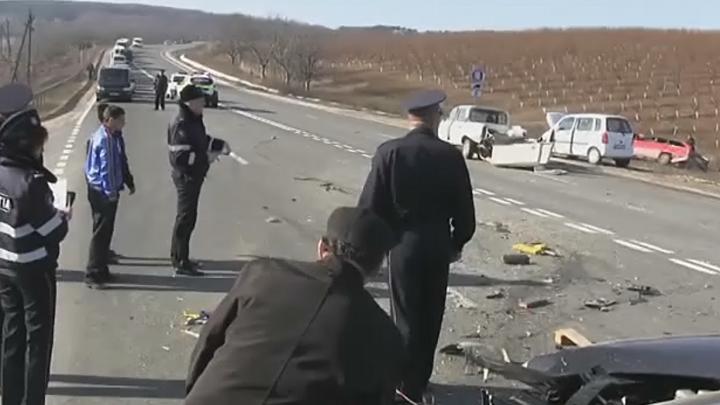 Сразу несколько аварий на севере Молдовы: два человека погибли на месте