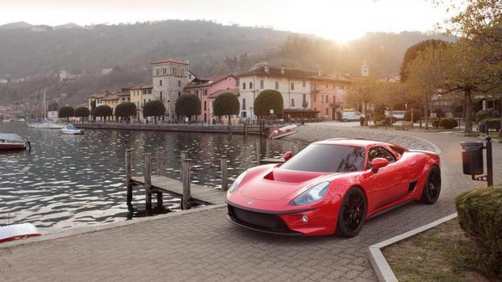 Итальянцы создали мощный суперкар с ретро-дизайном