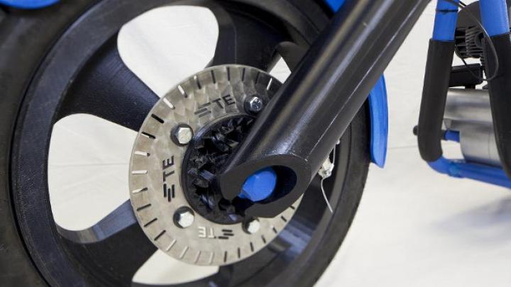 Мотоцикл, распечатанный на 3D-принтере, представят публике 20 мая