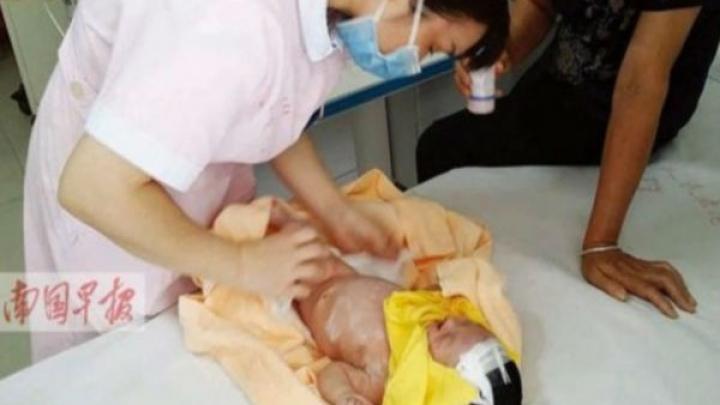 Похороненный заживо младенец выжил, проведя 8 суток под землей