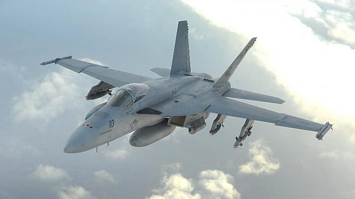 В Персидском заливе разбился истребитель США