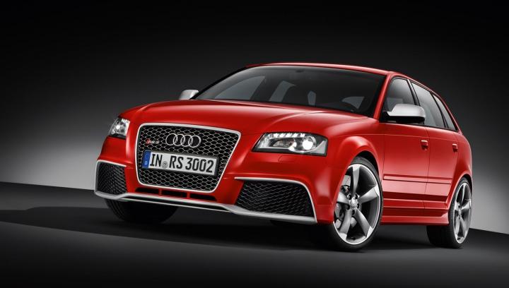 Audi R8 в муках рожает RS3 Sportback (ВИДЕО)