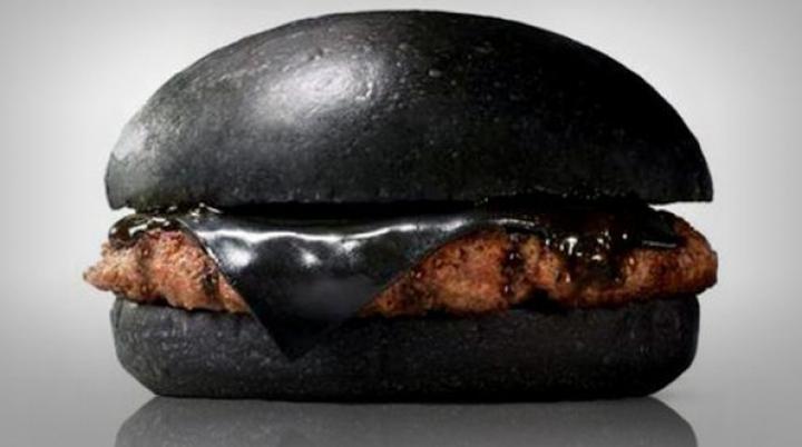 В Индии представили новый черный бургер