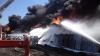 Пожар на нефтебазе под Киевом грозит экологической катастрофой Молдове