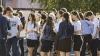 Выпускники девятых классов сдают экзамен по математике