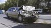 Два автомобиля столкнулись на перекрестке в столице, есть пострадавшие (ФОТО)