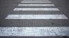 Жители Дурлешт сами обновили разметку на пешеходных переходах, не дождавшись властей