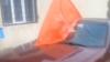 Инцидент на выборах в Фалештах: партийный флаг у избирательного участка (ВИДЕО)