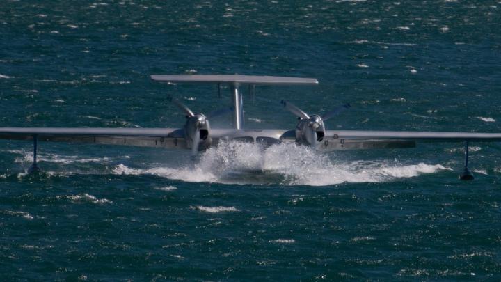 Спортивный самолет упал в море в Хорватии