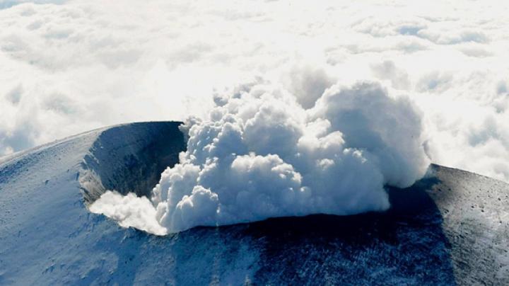 В Японии активизировался опасный вулкан