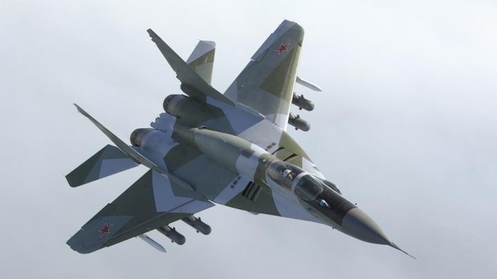 В Краснодарском крае упал истребитель МиГ-29
