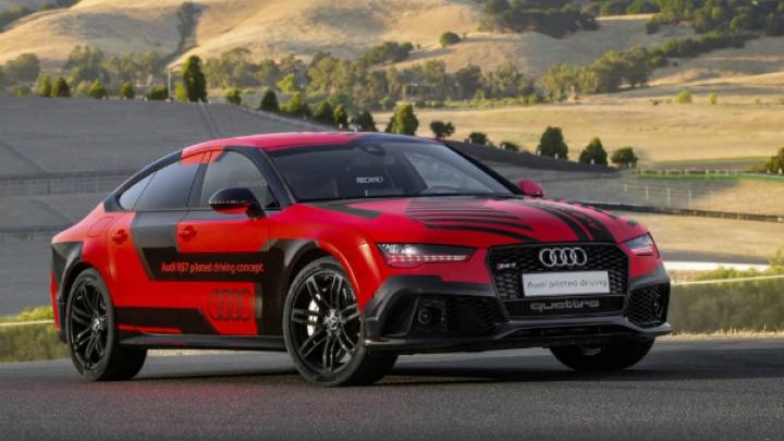 Audi облегчила «самый быстрый автомобиль-беспилотник в мире»