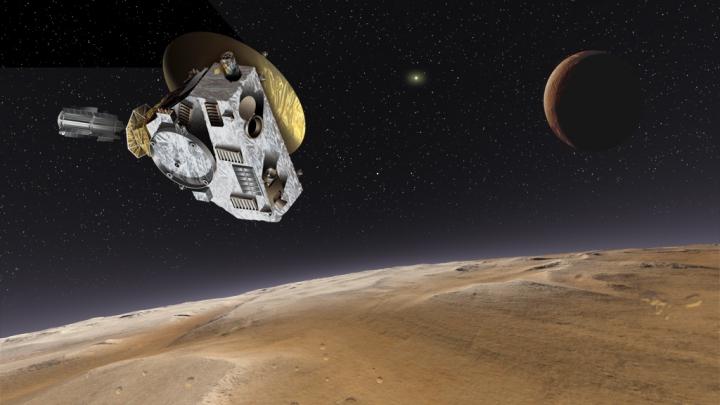 New Horizons приближается к Плутону