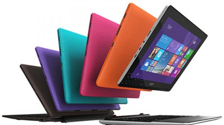 Acer и Hewlett-Packard объявили о начале продаж ноутбуков-трансформеров