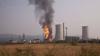 Химический завод загорелся на северо-западе Чехии
