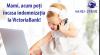 Теперь пособия по уходу за ребенком Вы можете получать в VictoriaBank, абсолютно бесплатно!