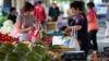 В Комрате продолжают продавать продукты на тротуарах